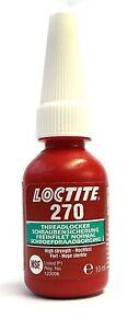 (1,25€/ml)  - Henkel Loctite 270 Schraubensicherung 10ml Hochfest