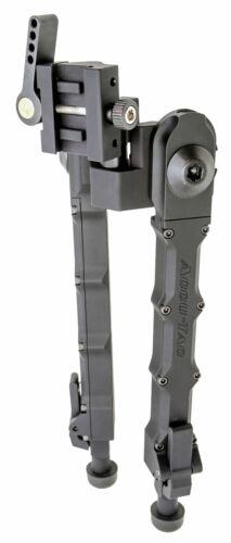 "Accu-Tac SRBG200 SR-5 G2 Bipod Black Hardcoat Anodized 6.25""-10.75"" 6061-T6 Alum"