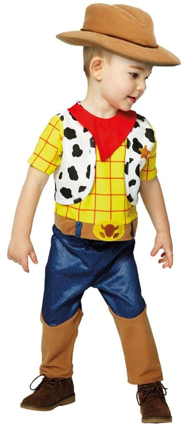 Baby Boys Toddlers Woody Toy Story Cowboy Film Book Day Fancy Dress Outfit c4ae066b505
