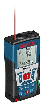 Bosch Glr-825 Laser Distance Measurer Meter 820ft Range