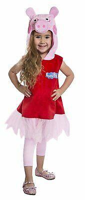 Palamon Peppa Pig Deluxe Dress Costume For Toddlers (2T)](Peppa Pig Halloween Costume For Toddler)