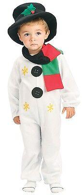 Kleinkind Mädchen Jungen Weihnachts Schneemann Halloween Kostüm Kleid Outfit 2-3