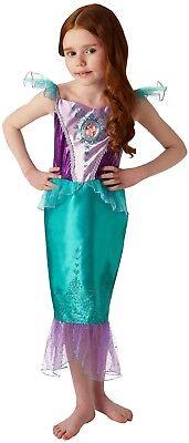 Mädchen Disney Prinzessin Ariel Mermaid Welttag des Buches Kostüm Kleid Outfit