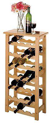 Bottle Wine Drink Rack Shelf Kitchen Bar Cabinet Cellar Liquor Stand Storage New