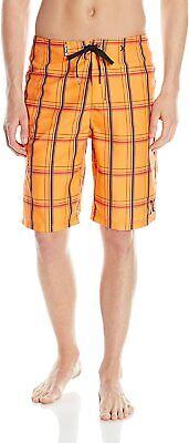 Men's Hurley 'Phantom Ripple' Board Shorts, Size 30 - Orange