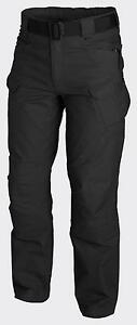 HELIKON-TEX-URBAN-TACTICAL-PANTS-UTP-RIPSTOP-PANTALoN-Negro-Negro-Medium-Regular