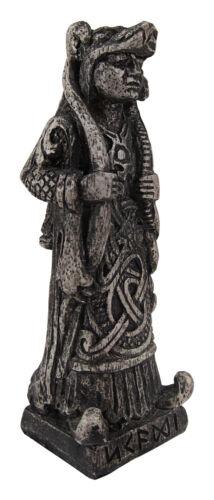 Skadi Figurine - Norse Goddess of Winter Stone Finish Dryad Design Viking Statue