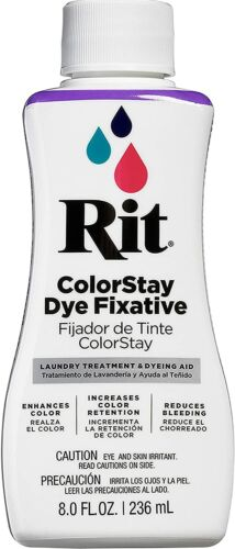 Rit Dye Rit Colorstay 8 Fl Oz Dye Fixative New
