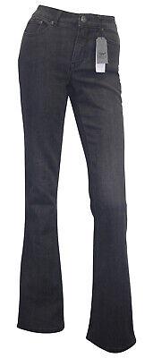 ARIZONA High Waist Jeans Kurz-Größe 18 black used Stretchjeans Bootcut neu