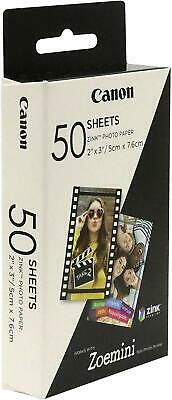 Canon Zoemini Zink Instant Photo Paper (Pack of 50 Sheets)