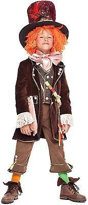 Italienische Herstellung Jungen Mad Hatter Welt Buch Tag Karneval Kostüm - Karneval Kostüm Hersteller