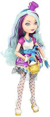 Mattel Ever After High Madeline Hatter Tochter des Hutmachers REBEL OVP BBD43 ()