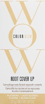 Color Wow Root Cover Up Platinum Light Blonde 2.1g. 0.7 oz