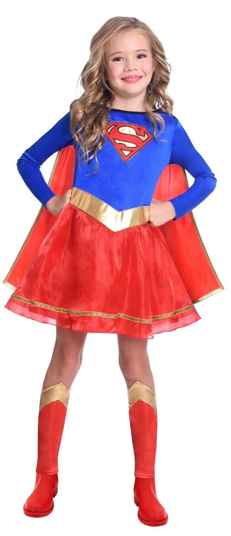 Ladies Red Super Hero Fancy Dress Costume