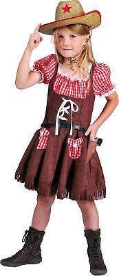 Cowgirl Denise Cowboy Kinder Karneval Fasching Kostüm 104-128 ()