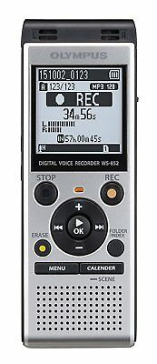 Brand New Sealed Olympus WS-852 Digital Voice Recorder Silver MP3 USB SD slot