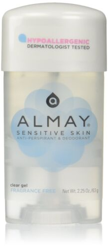 Almay Anti-Perspirant - Deodorant Fragrance Free Clear Gel 2.25 oz