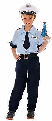 Deutsche Polizei Kostüm Kinder Jungen - Polizist Faschingskostüm - Kostüme Polizist