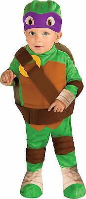 Toddler Size Teenage Mutant Ninja Turtles Donatello Romper Shell and Headpiece  (Teenage Mutant Ninja Turtles Kostüm Shell)