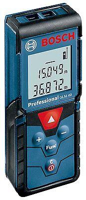New Bosch Glm40 Professional Laser Distance 40 Meter Range Finder From Japan