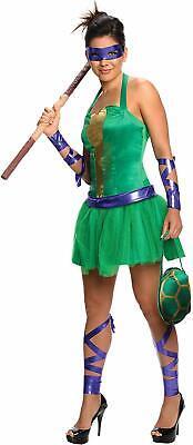 Raphael Kostüm Ninja Turtles Donatello  Frauen Gr: (Donatello Kostüm Frauen)