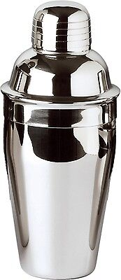 Tavern Cocktail Shaker Set, 12 oz., Stainless Steel 12 Ounce Cocktail Shaker