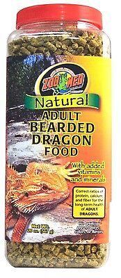 ZOO MED ADULT BEARDED DRAGON FOOD 20OZ