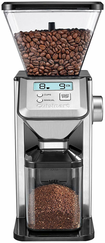 NEW Cuisinart CBM-20 Premium Conical Coffee Bean Burr Grinde