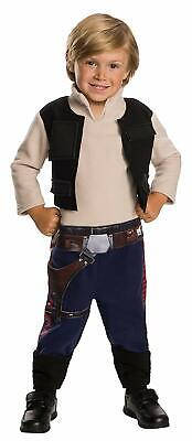 Toddler Halloween Costumes Original (Han Solo Star Wars Classic Pilot Fancy Dress Up Halloween Toddler Child)