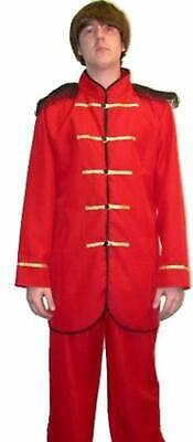 1960ER Sergeant Pepper Kostüm Pop Sgt Symbol Hippy Kostüm 60ER JAHRE Jacke (Sergeant Pepper Kostüm)