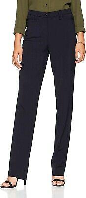 Atelier GARDEUR Women's Kayla Trousers Dark Navy UK 14 SHORT