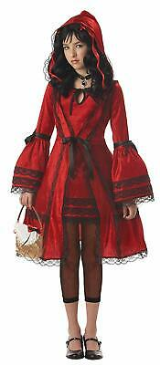 Red Riding Hood Fairy Tale Strangeling Fancy Dress Halloween Teen Tween Costume](Red Riding Hood Costume Teenager)