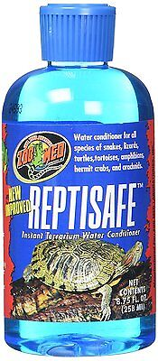 Zoo Med ReptiSafe Instant Terrarium Water Conditioner net content 8.75 oz Terrarium Water Conditioner