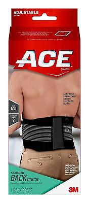 Lightweight Back Support - ACE Adjustable BACK BRACE, Lightweight & Adjustable Custom Fit 1 Support Level 2