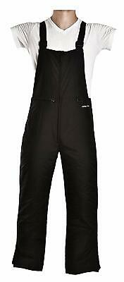 Men's Essential Insulated Bib Overalls Large (36-38W * 34L) Tall Black Best