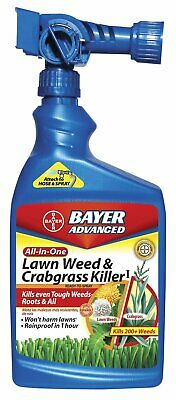Bayer Advanced 704080 All-in-One Lawn Weed and Crabgrass Killer (Bayer Advanced Lawn Weed And Crabgrass Killer)