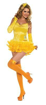 Looney Tune Costumes (Secret Wishes Womens Sexy Tweety Bird Looney Tunes Halloween Dress Up Costume)