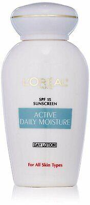 L'Oreal Paris Skincare Active Daily Moisture Face Lotion with SPF 15, Face... Active Daily Moisture Lotion