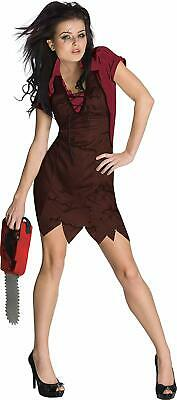 Secret Wishes Miss Leatherface The Texas Chainsaw Massacre Costume (Small)](The Texas Chainsaw Massacre Halloween Costume)