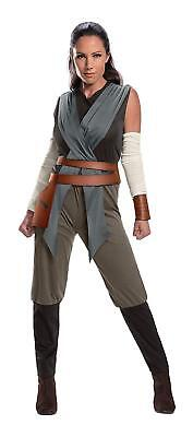 Rey Star Wars Last Jedi Knight Warrior Fancy Dress Up Halloween Adult Costume](Warrior Dress Up)