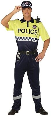 Mens International Policia Police Officer Uniform Carnival Fancy - International Fancy Dress Kostüme