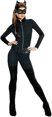 Ladies Sexy Classic Catwoman DC Comics Film Halloween Fancy Dress Costume Outfit ()