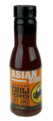 Buffalo Wild Wings Asian Zing Chili Pepper Soy and Ginger Sauce 12 oz, DEC 2019