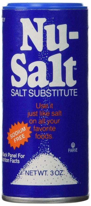 Nu Salt, 3-Ounce Shaker - Pack of 1