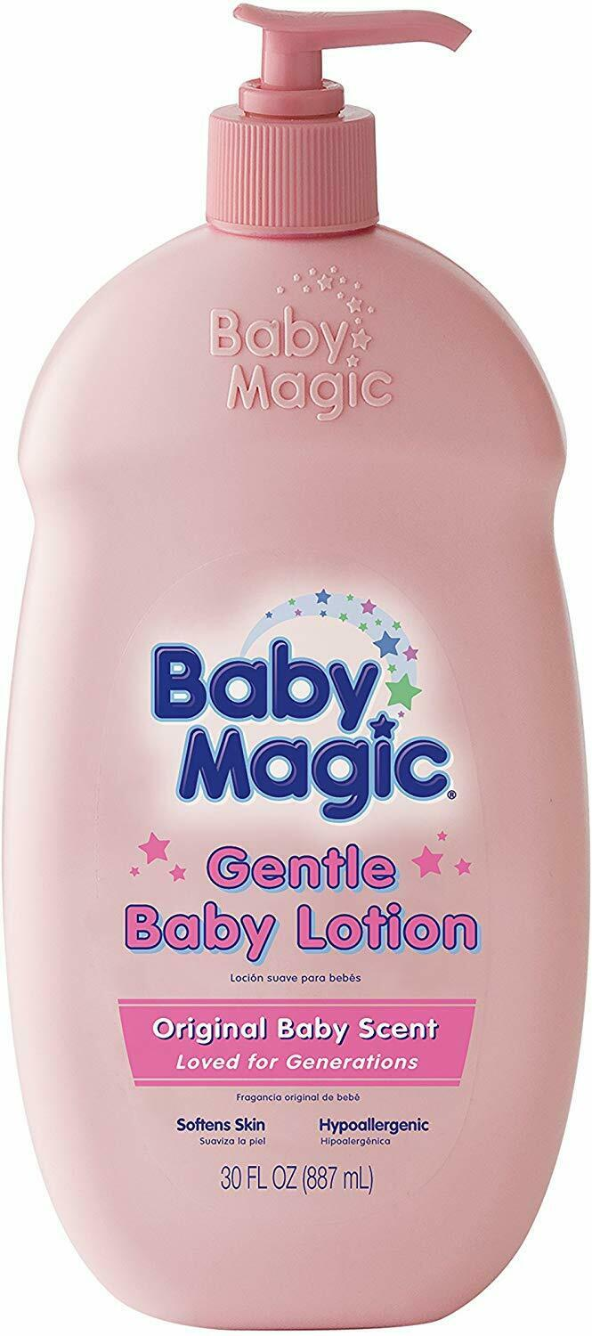 Baby Magic Gentle Baby Lotion Original Baby Scent 30 fl oz -