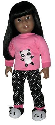 Used, LAST PAIR!!  PANDA SLIPPERS fits American Girl for sale  Surprise