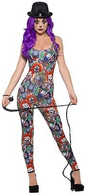 Ladies Sexy Crazy Clown Circus Halloween Horror Fancy Dress Costume Outfit](Crazy Halloween Outfits)