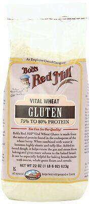 Bob's Red Mill Vital Wheat Gluten Flour (2x22 Oz) Bobs Red Mill Vital Wheat Gluten Flour