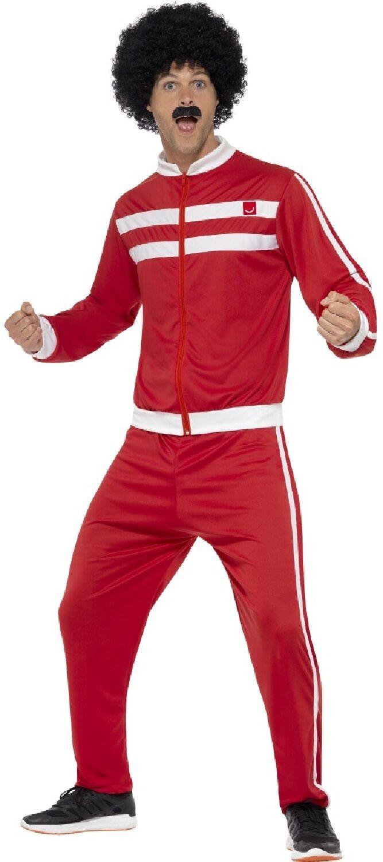 Retro Shell Suit Costume Da Uomo-Gents