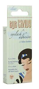 Eye Candy Eyelash Adhesive False Lash Glue Latex Free Dries Clear BRAND NEW!